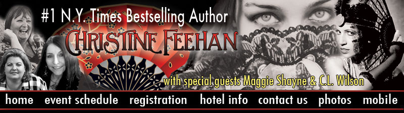 FAN 2014: CHRISTINE FEEHAN & GUEST AUTHOR MAGGIE SHAYNE